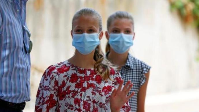 同學確診感染新冠,西班牙公主隔離并將接受病毒檢測