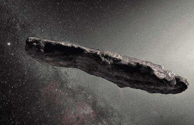 """""""奥陌陌""""是首个闯入太阳系的""""星际访客""""。"""