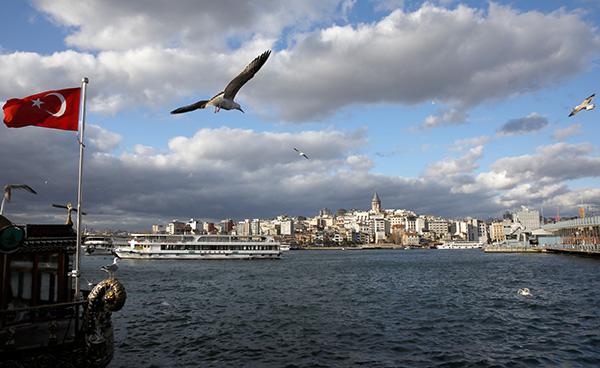 土耳其伊斯坦布尔。人民视觉 原料图