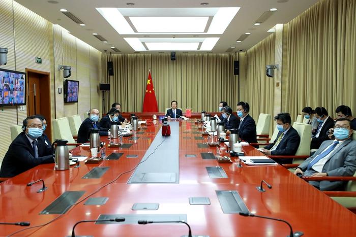 韩长赋出席G20农业和水利部长会议:中国全年粮食丰收在望