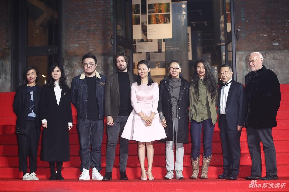 宋丹丹与赵婷在平遥国际电影节合照