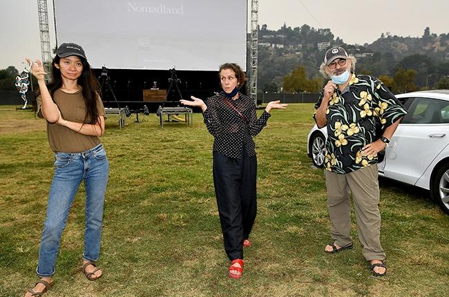 赵婷与弗兰西斯在特柳赖德电影节电影展映活动