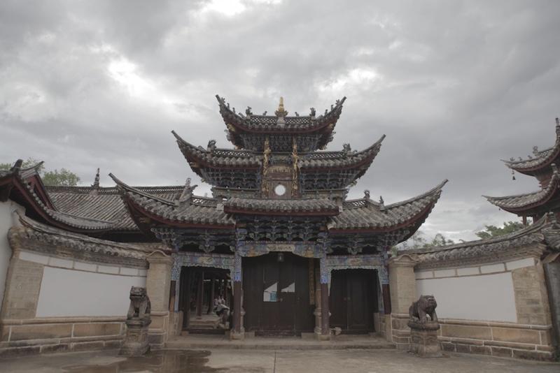 永平的迁糯佛寺,已有300多年历史