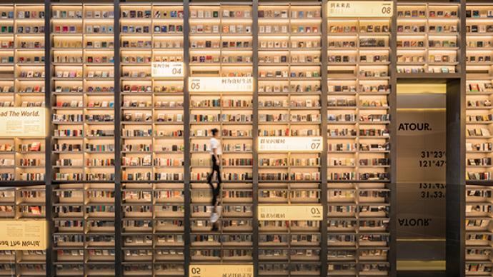 單向空間在上海開出首家分店,許知遠:拍照打卡也挺好