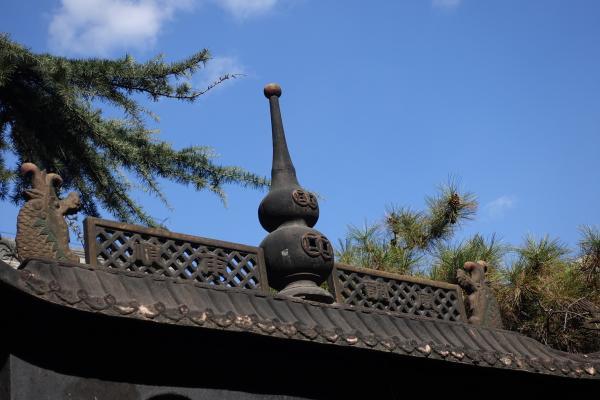 道观里的葫芦形装饰,赵爽摄于北京白云观