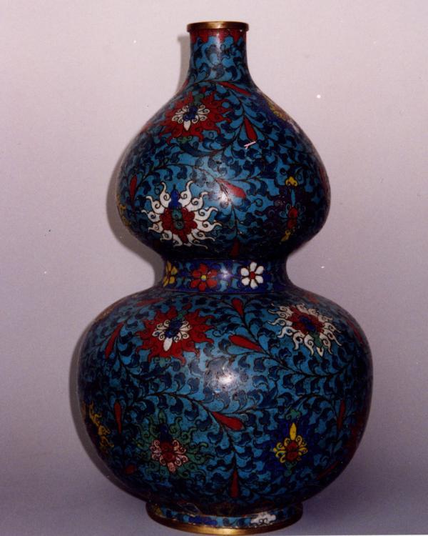 景泰蓝葫芦瓶
