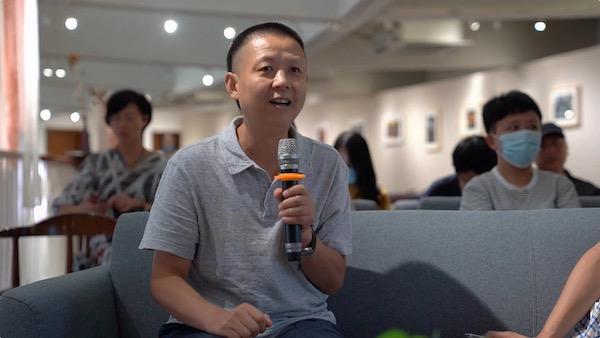 中国美术学院副教授王犁发言