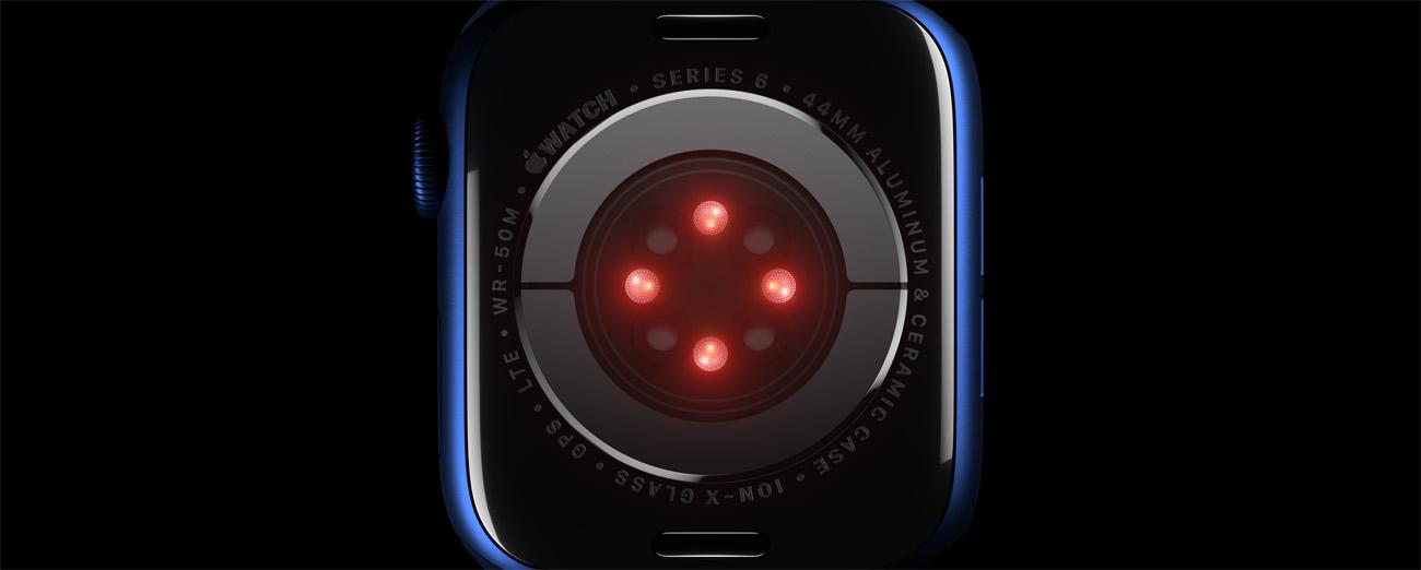 Apple Watch 6新增血氧检测功能