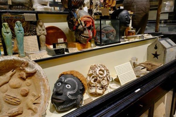 现在,这些头颅已经被放进了储藏室。