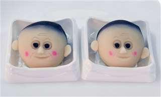 """秋田县一家食品公司出品的日式点心,名为""""菅酱"""""""