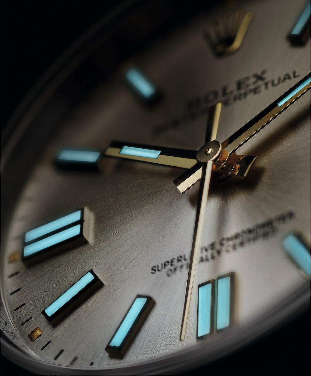 全新蚝式恒动型41(OysterPerpetual41)腕表