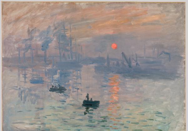 克劳德·莫奈,《日出·印象》,1872