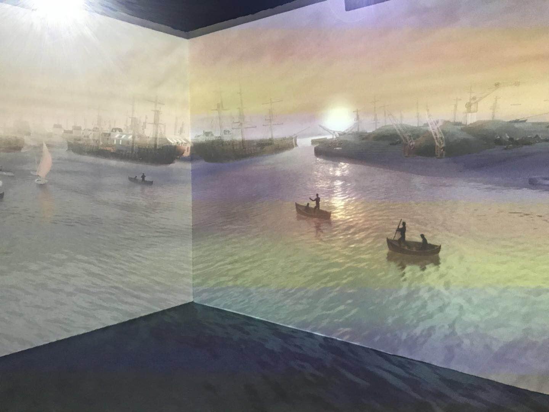 展厅内沉浸式体验展区