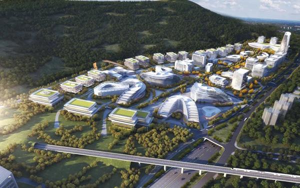 科学谷(效果图)重庆高新区 供图