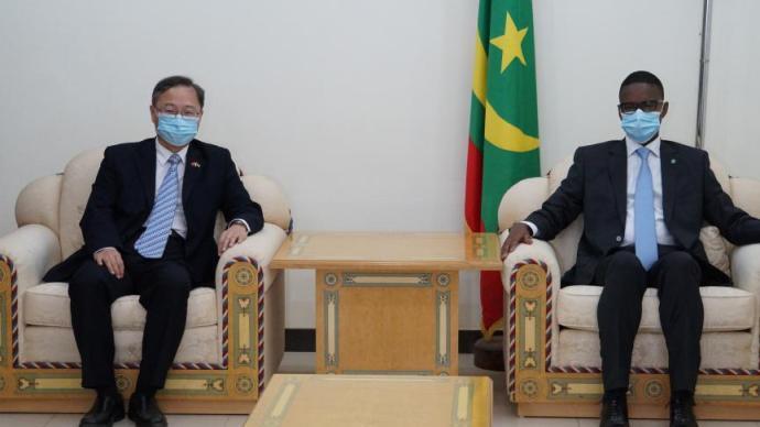 中國駐毛里塔尼亞大使張建國即將離任