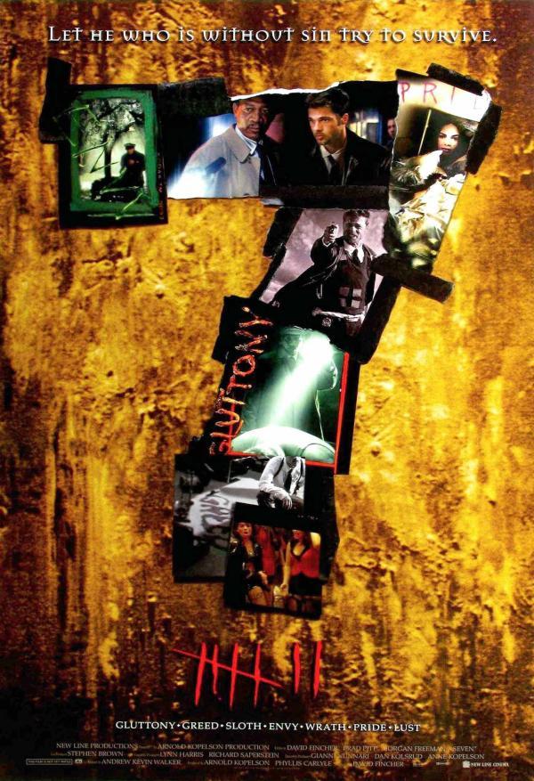 《七宗罪》电影海报