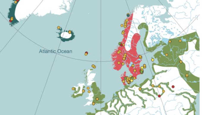 """古人類基因組分析表明:維京人群基因""""足跡""""遍及歐洲"""