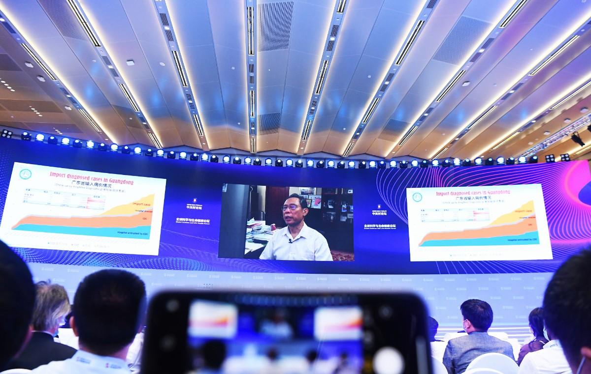 钟南山:今冬明春,beplay体育苹果手机怎么下载疫情可能会继续存在或发展
