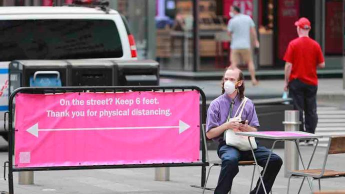 最新民調:僅20%美國人希望各州放寬防疫限制