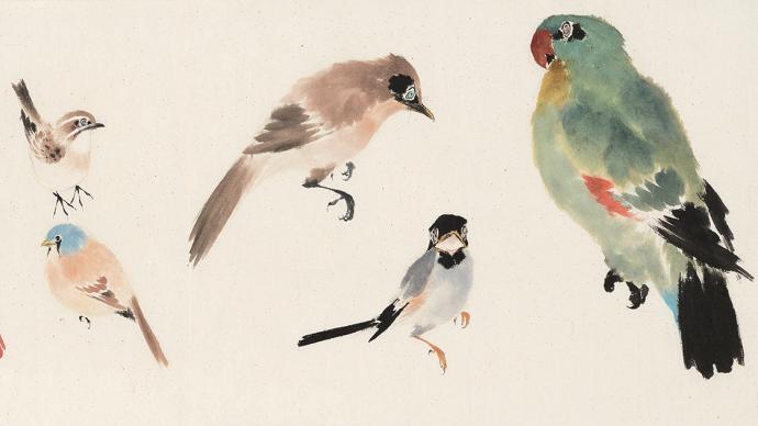 """走进乔木的""""百鸟园"""",上海中国画院纪念其诞辰百年"""