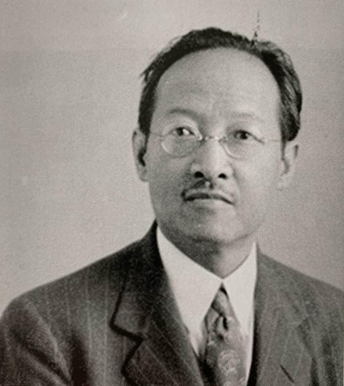 1945年的赵元任。照片来源为牟复礼回忆录,原图片由赵新那提供。