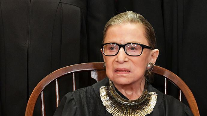 金斯伯格:她把女性權利案件帶進美國最高法院