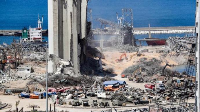 黎巴嫩贝鲁特港爆炸仍有9人失踪,搜救工作继续