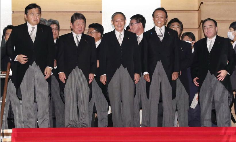 9月17日,日本新一届内阁首次开工