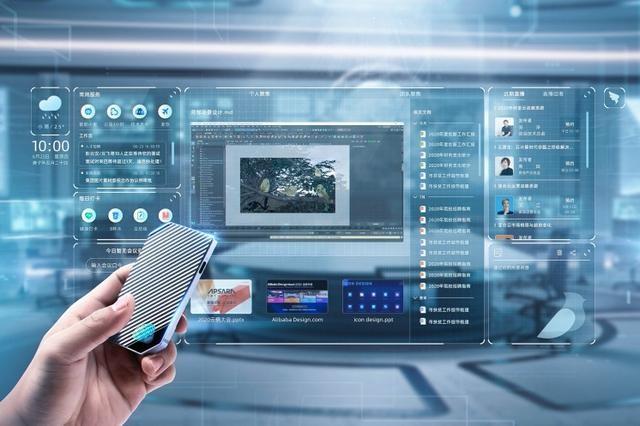 """""""无影""""是一台长在云上的 """"超级电脑"""",本地异国主机,也望不见电脑CPU和硬盘,由于这些硬件设备都荟萃在云端的数据中内心。"""