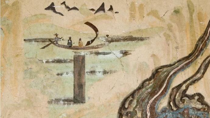 鉴赏 秋分之美:壁画里的山水与稻田,已悄然入秋