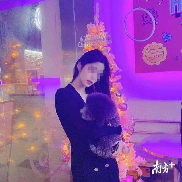 杨朔女友苏杏的照片。