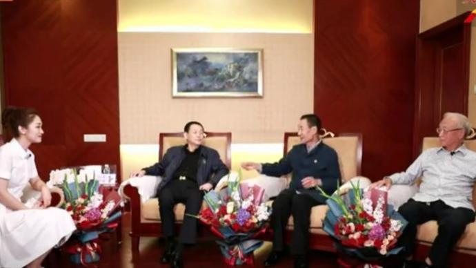 30年再聚首,电影《焦裕禄》剧组在郑州重聚