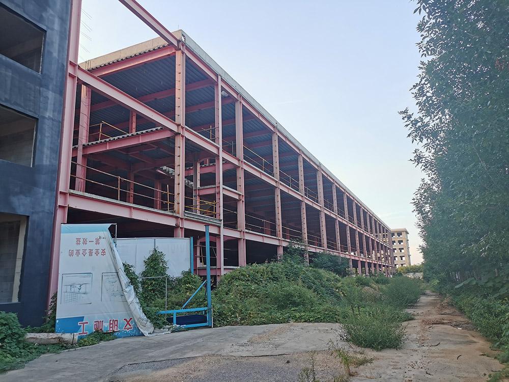 淄博广青机器人项目钢结构车间