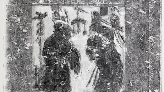 """漢畫像里的""""石上千秋"""":儒風往事,禾粟盈倉,三晉遺珍"""