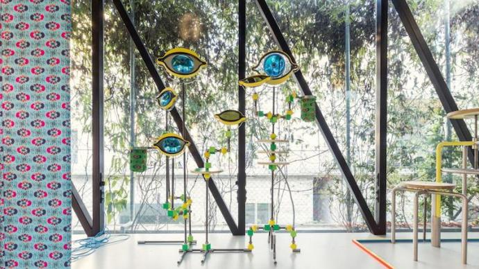 """法国M/M首展""""上海制造"""",""""脑洞""""里的迷人符号与图像"""