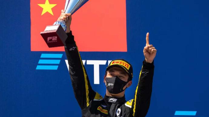 F2首位中国冠军周冠宇:未来目标,就是成为F1正赛车手