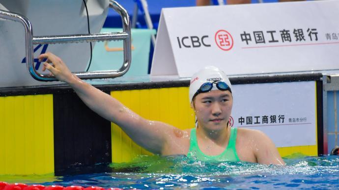 叶诗文体测不达标,小组第三却无缘晋级400米混合泳决赛
