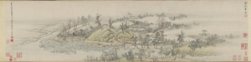 清 王翚《沧浪亭图》