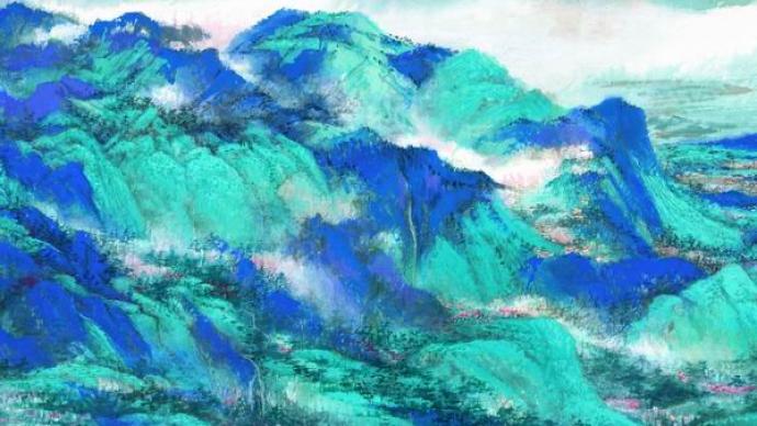 圓桌 悠久的青綠之色,如何表達這個時代的山水與現實