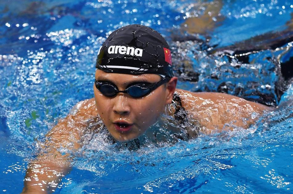 王简嘉禾因为体测连续三次无缘项目决赛。