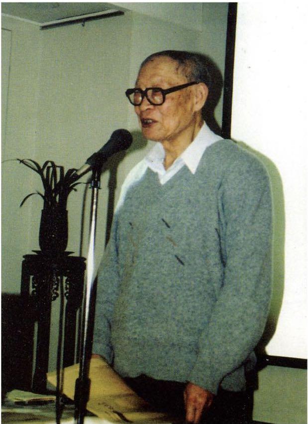 汪世清在美国做学术报告
