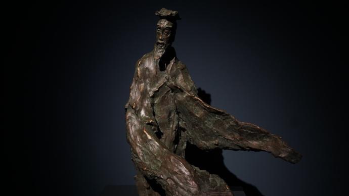 """雕塑里的文人與""""寫意"""":從杜甫、蘇軾到魯迅、齊白石"""