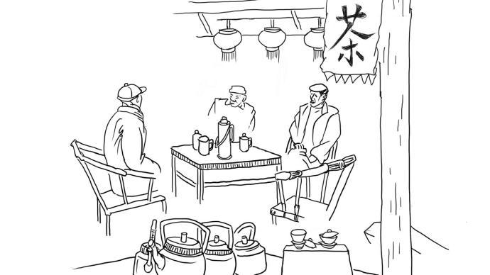 城市课︱微观成都②:茶馆里的小社会