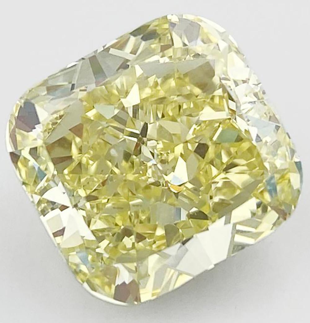 14.37克拉黄钻,比利时的塔斯钻石公司将带该宝石参展第三届进博会。