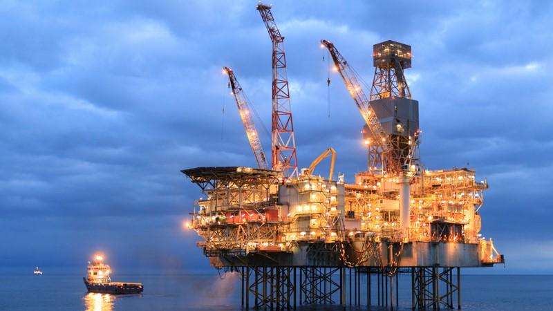 阿塞拜疆沙阿德尼兹气田。 阿塞拜疆能源部 图