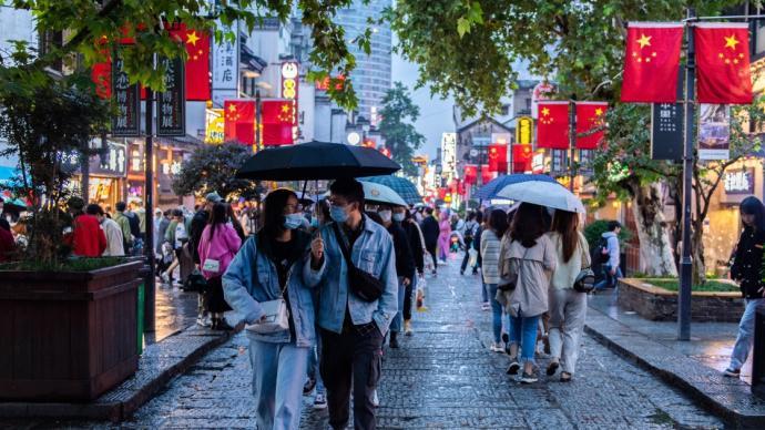 多個省份國慶接待游客人次恢復至去年同期80%以上