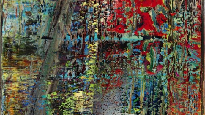 里希特畫作香港拍出2.1億多港元,班克斯拍出6400多萬