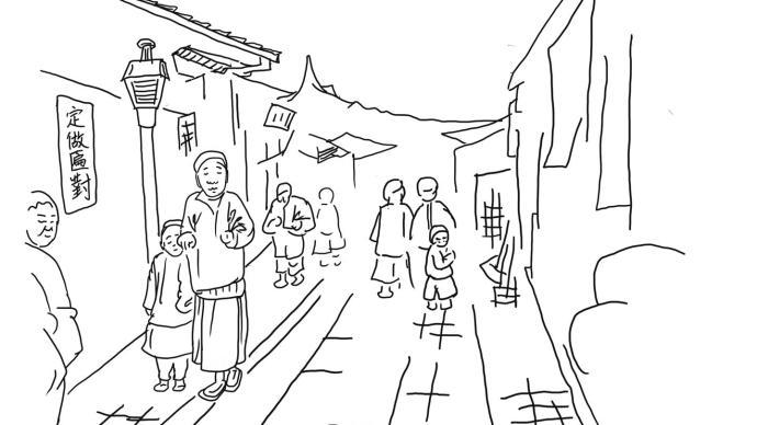 城市课︱微观成都⑤:热闹的街头
