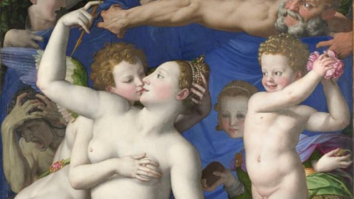 """英國國家美術館里的""""邪惡珍寶"""":這只是一個吻"""