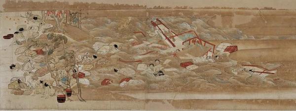 东征传绘卷·第二卷(1298年 日本镰仓时代)